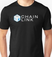 ChainLink Logo with Text Unisex T-Shirt