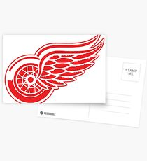 Detroit Red Wings  Postcards