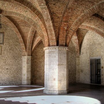 Fan vaulting in Todi by DickPountain