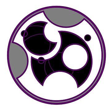 Circular Gallifreyan Space Ace by FireLemur
