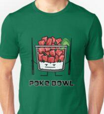 d9b139056c8 Poke bowl Hawaii raw fish salad chopsticks aku Unisex T-Shirt