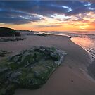 Ogmore Beach Sunset by Richard Lewis