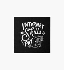 Pay the Bills Art Board