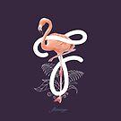 F for Flamingo by Aaron Randy