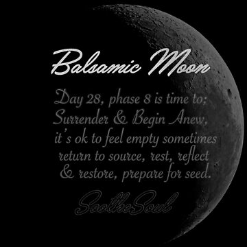 The Power of the Balsamic Moon by shhevaun