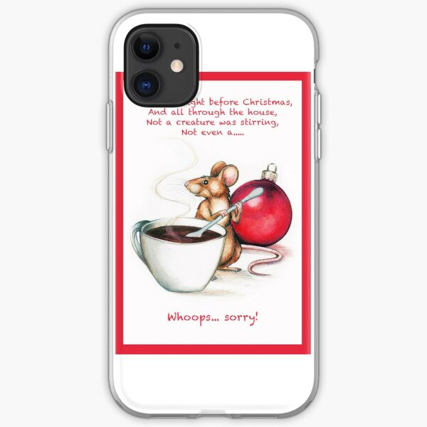 Christmas Mouse iPhone Soft Case