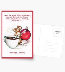 Christmas Mouse Postcards