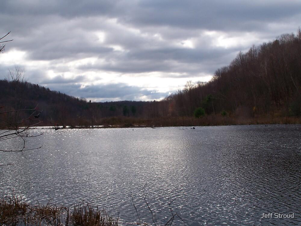 Easton Pond  by Jeff stroud