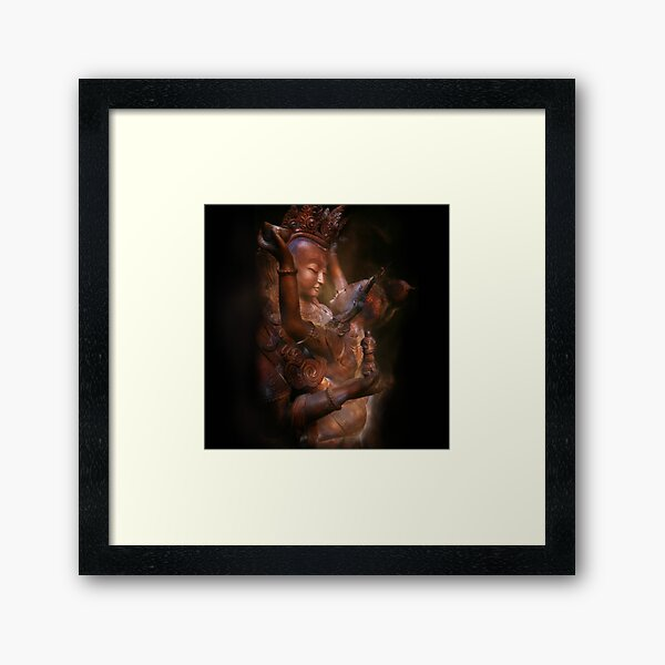 Shiva Shakti, Tantra, Yab Yum Framed Art Print