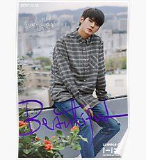 Wanna One (워너원) Beautiful - Ong Seongwoo (옹성우) Poster