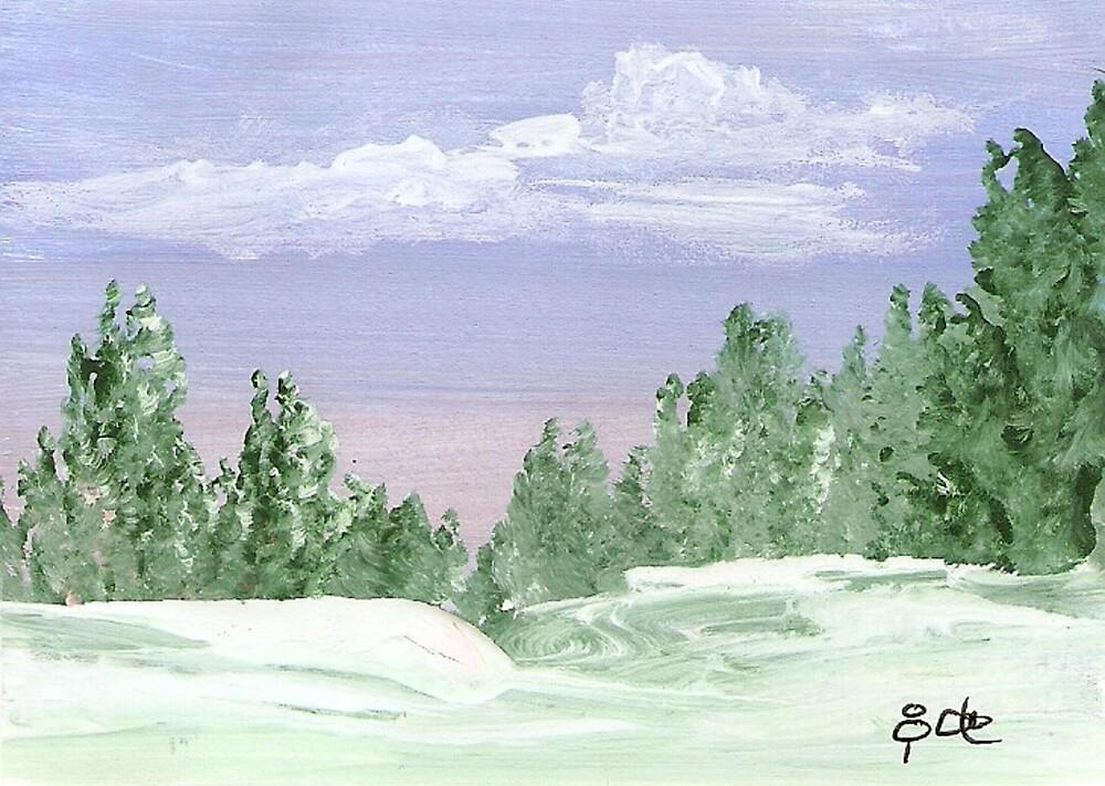 Snow Paradise by Ginger Lovellette