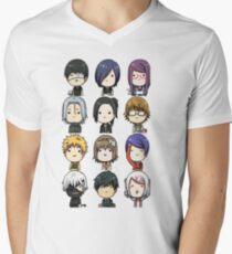 Tokyo Ghoul characters Men's V-Neck T-Shirt