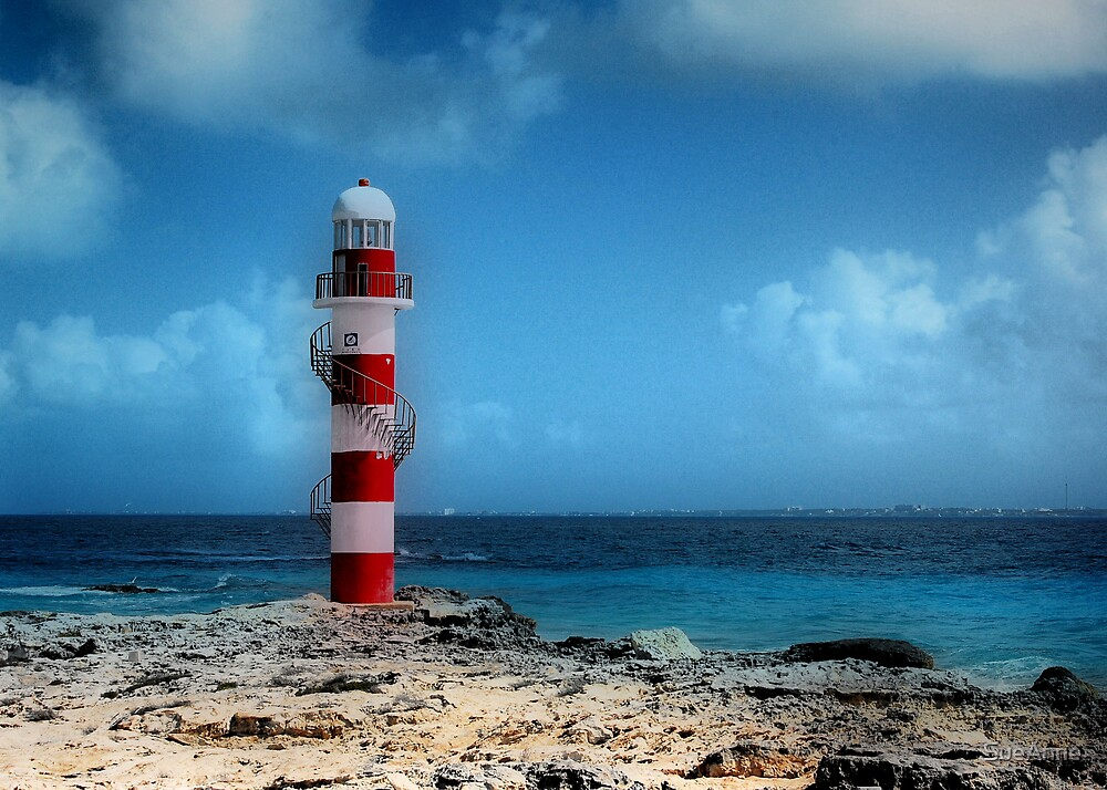 """Rendition of the """"Light House""""  by SueAnne"""