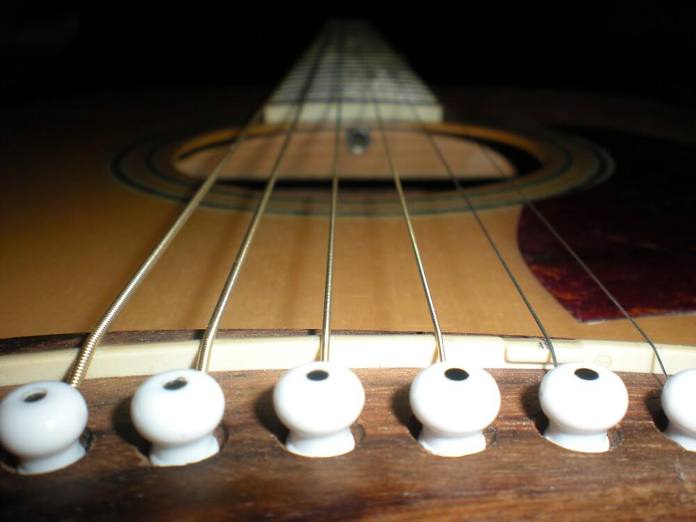 guitar  by kezzaroo