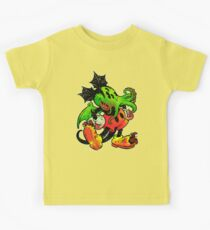 MICKHULHU MOUSE (color) Kids Tee