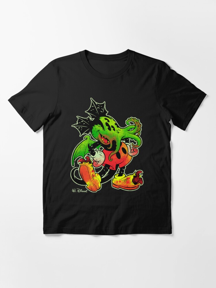Alternate view of MICKHULHU MOUSE (color) Essential T-Shirt