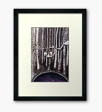 Sloth. The mother of all vices. Framed Print