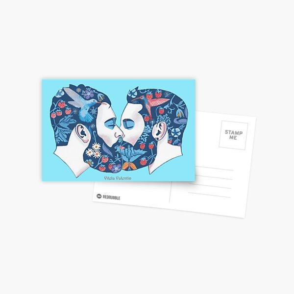 Bärte in der Liebe Postcard