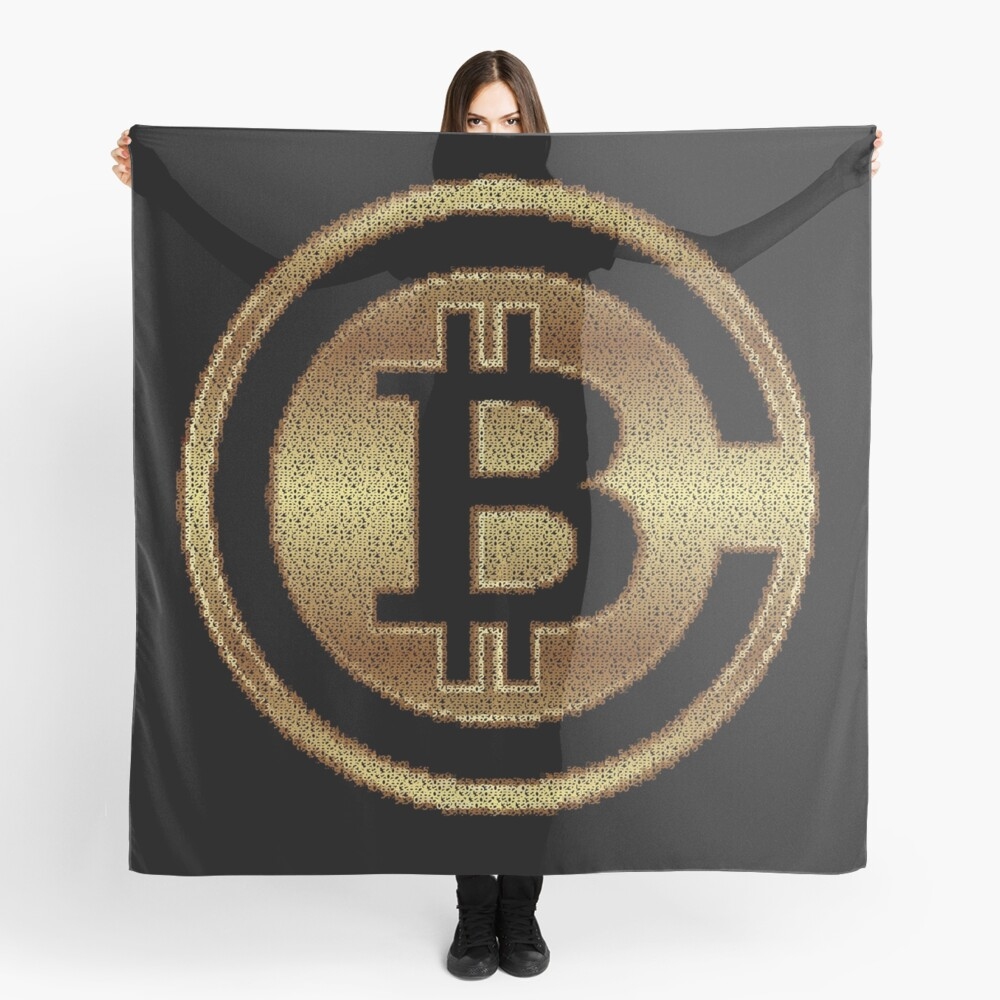 BitCoins by Numbers by RootCat Scarf