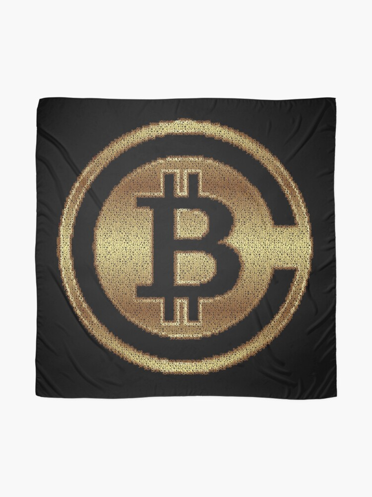 Alternate view of BitCoins by Numbers by RootCat Scarf