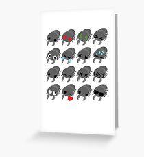 Stag Emoji   Greeting Card