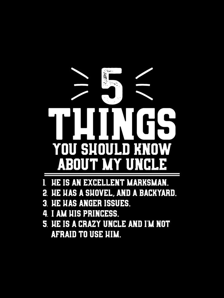 5 cosas que debes saber sobre mi tío de lsrclothing