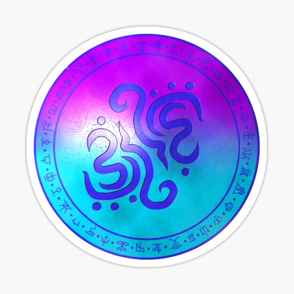 Sigil of water Sticker