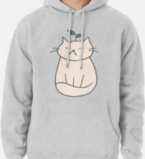 Plant Cat Pullover Hoodie
