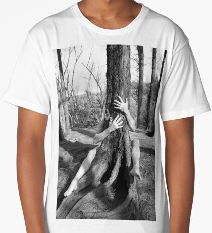 Hands and tree Long T-Shirt