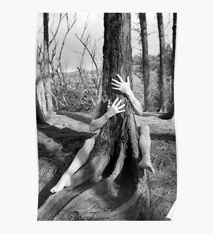 Hands and tree Poster