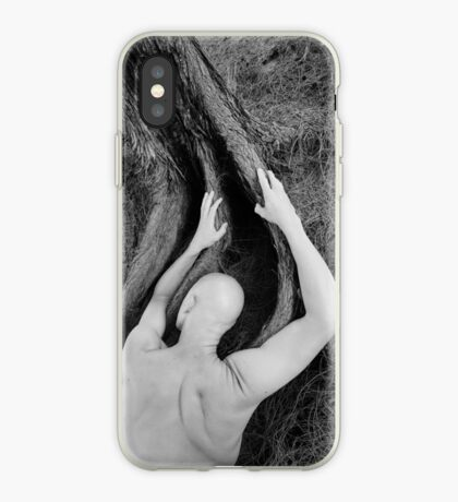 Man and tree iPhone Case
