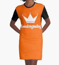 Koningsdag Crown 2018 - King's Day Netherlands Celebration Nederland Graphic T-Shirt Dress