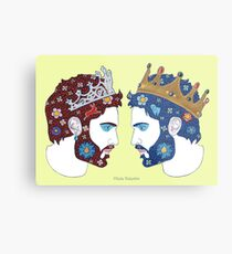 """""""Spiegel, Spiegel an der Wand, wer ist die schönste Königin von allen"""" Metal Print"""