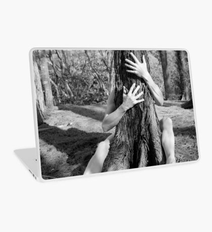 Hands and tree Laptop Skin