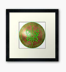 Sigil of earth Framed Print