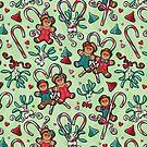 Gingerbread Over Heels by Linda Hardt