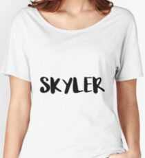 SKYLER Women's Relaxed Fit T-Shirt