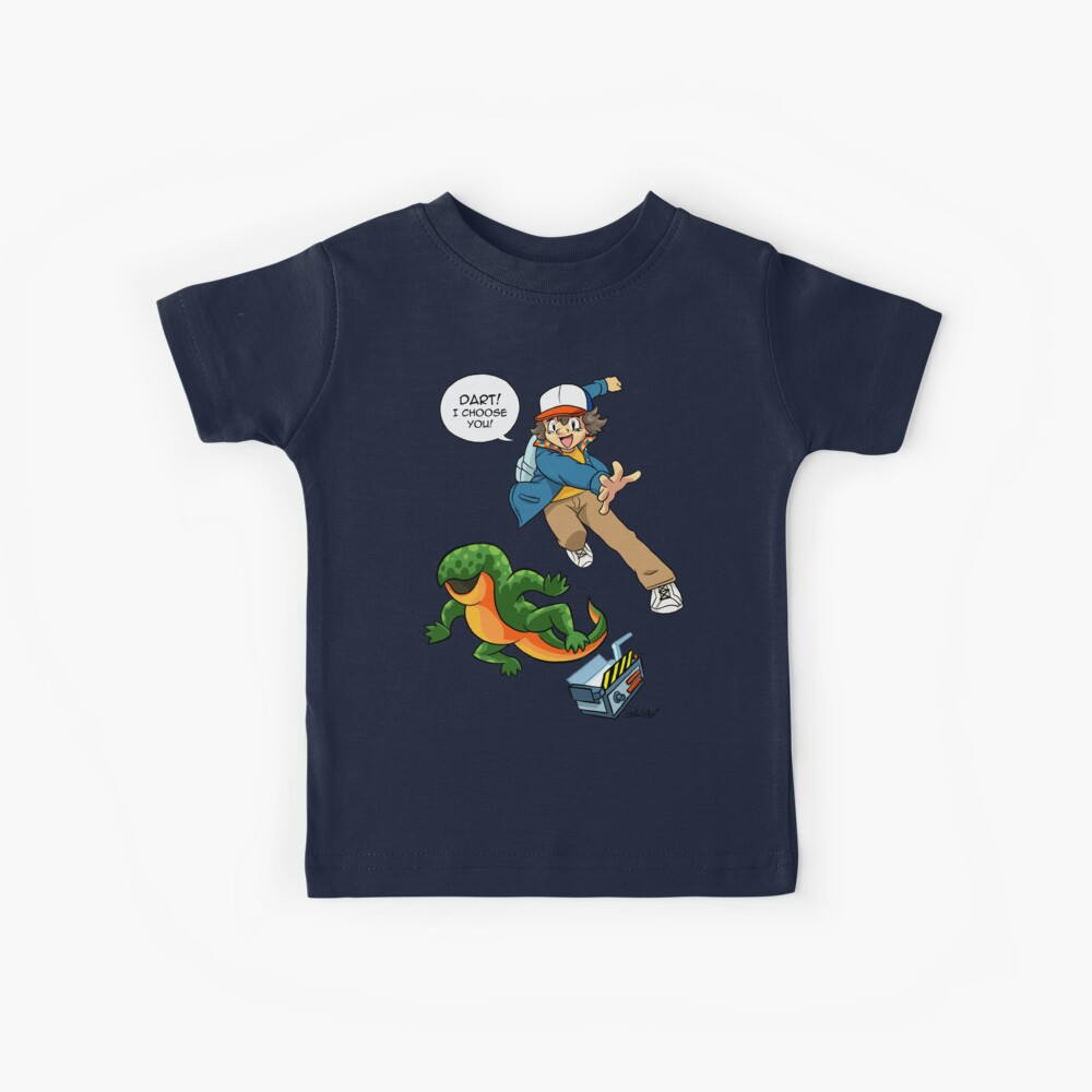 DART! I CHOOSE YOU! Kids T-Shirt