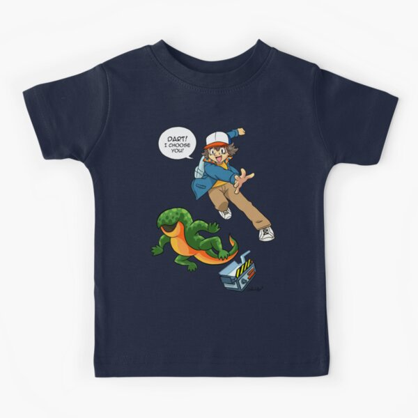 DART! I CHOOSE YOU! Kids T-Shirt