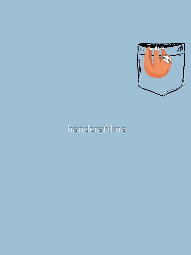 Pocket sloth by handcraftline