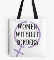 FRAUEN OHNE GRENZEN // Refugee Womens Centre Holiday Fundraiser Tote Bag