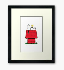 Snoopy (Charlie Brown) Framed Print