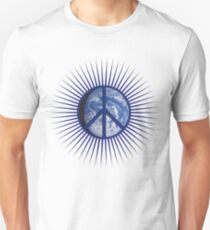 Peace Symbol & Earth T-Shirt