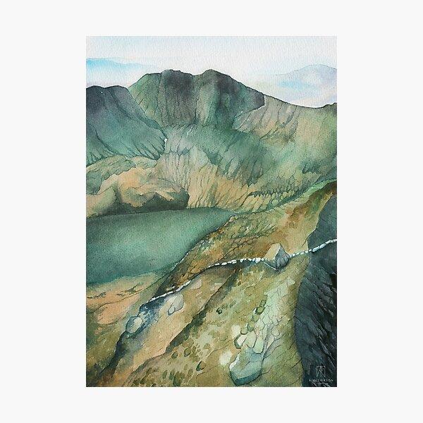 Snowdon in Summer Photographic Print