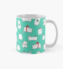 Fat Christmas cats Classic Mug