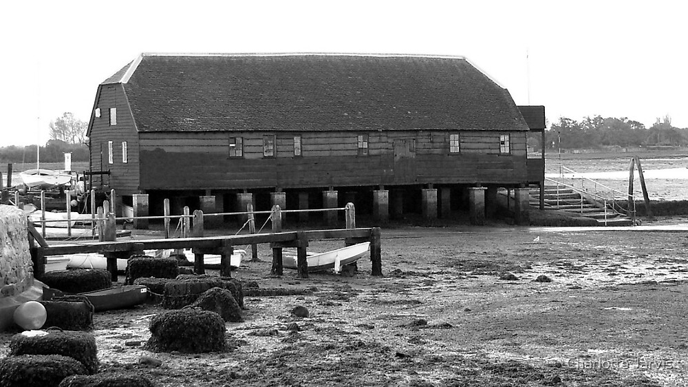 Boat house at Bosham by Charlotte Jarvis
