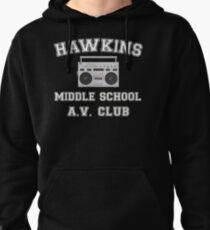 Hawkins Middle School AV Club Stranger Things Pullover Hoodie