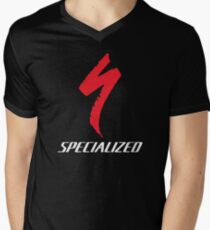 specialized logo Men's V-Neck T-Shirt