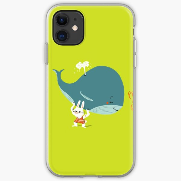 Little but Strong - Whale Coque souple iPhone