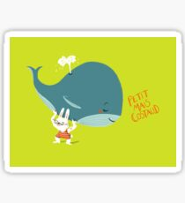 Little but Strong - Whale Sticker